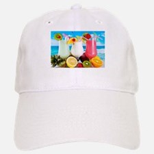 Exotic Summer Cocktails Baseball Baseball Baseball Cap