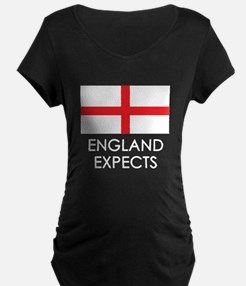 England Expects Maternity T-Shirt