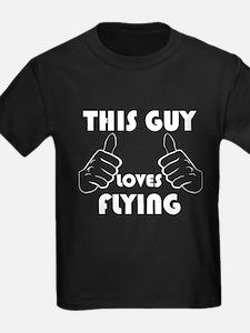 This Guy Loves Flying T-Shirt