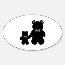 Bears in bowties Decal