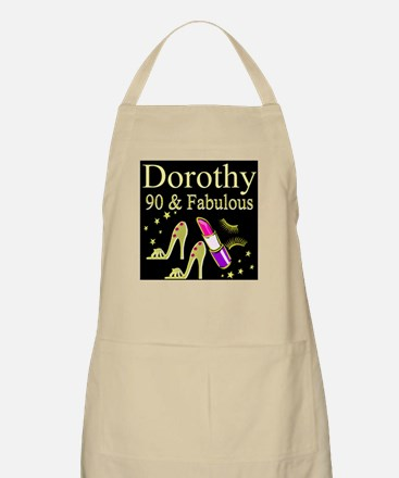 PERSONALIZED 90TH Apron