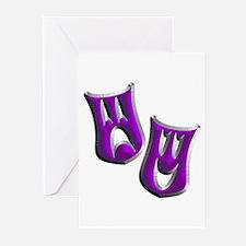 Purple Masks Greeting Cards (Pk of 20)