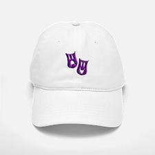 Purple Masks Baseball Baseball Cap