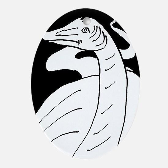 Diplodocus longus Oval Ornament