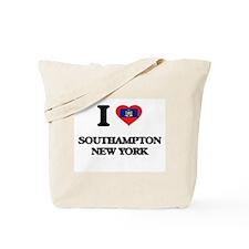 I love Southampton New York Tote Bag