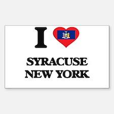 I love Syracuse New York Decal