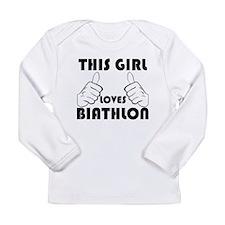 This Girl Loves Biathlon Long Sleeve T-Shirt