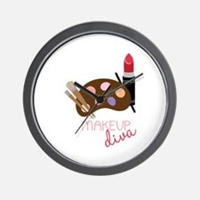 Makeup Diva Wall Clock