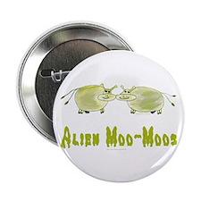 "Alien Moo-Moos 2.25"" Button (10 pack)"