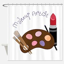Makeup Artist Shower Curtain