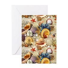Fancy Seashell Greeting Cards