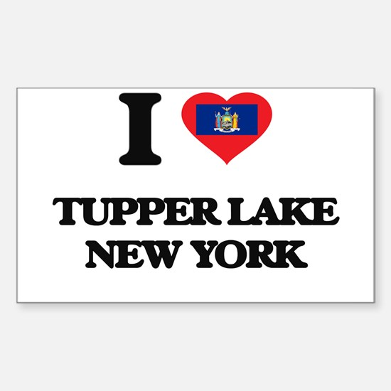 I love Tupper Lake New York Decal