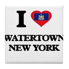 I love Watertown New York Tile Coaster