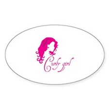 Curly girl Decal