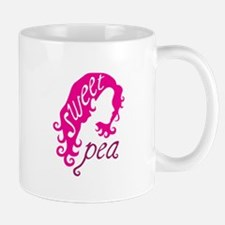 Sweet pea girl Mugs