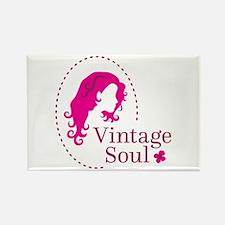 Vintage soul cameo Magnets