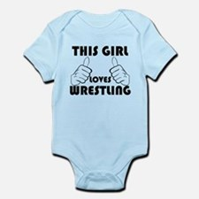 This Girl Loves Wrestling Body Suit