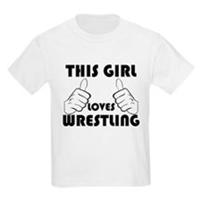 This Girl Loves Wrestling T-Shirt