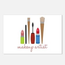 Makeup Artist Tools Postcards (Package of 8)