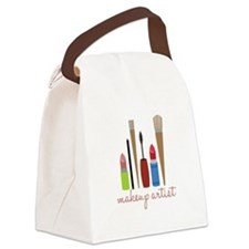 Makeup Artist Tools Canvas Lunch Bag