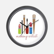 Makeup Artist Tools Wall Clock