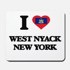 I love West Nyack New York Mousepad
