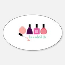 Colorful Life Nail Polish Decal
