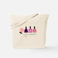 Colorful Life Nail Polish Tote Bag