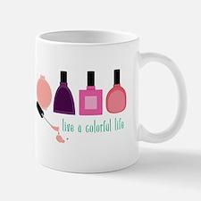 Colorful Life Nail Polish Mugs