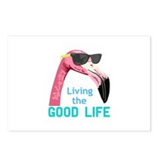 Living The Good Life Postcards (Package of 8)