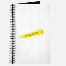 Yellow highlighter Journal