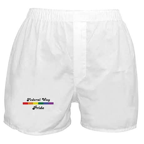 Federal Way pride Boxer Shorts