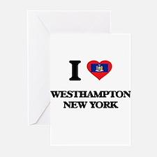 I love Westhampton New York Greeting Cards