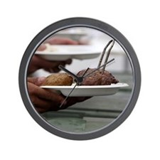Summertime Grilling Wall Clock