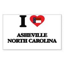 I love Asheville North Carolina Decal