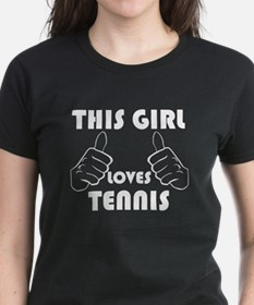 This Girl Loves Tennis T-Shirt