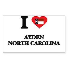 I love Ayden North Carolina Decal