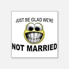 NOT MARRIED Sticker