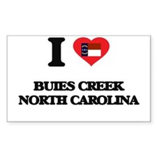 I love Buies Creek North Carolina Decal