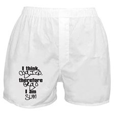 cogito, ergo sum Boxer Shorts