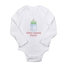 Cute Milk Long Sleeve Infant Bodysuit