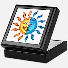 BiPolar Solar Keepsake Box