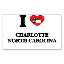 I love Charlotte North Carolina Decal