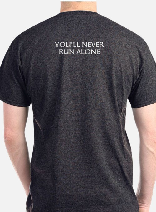 "Dark ""You'll Never Run Alone"" T-Shir"