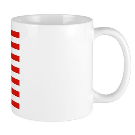 Upside Down USA Flag Mug