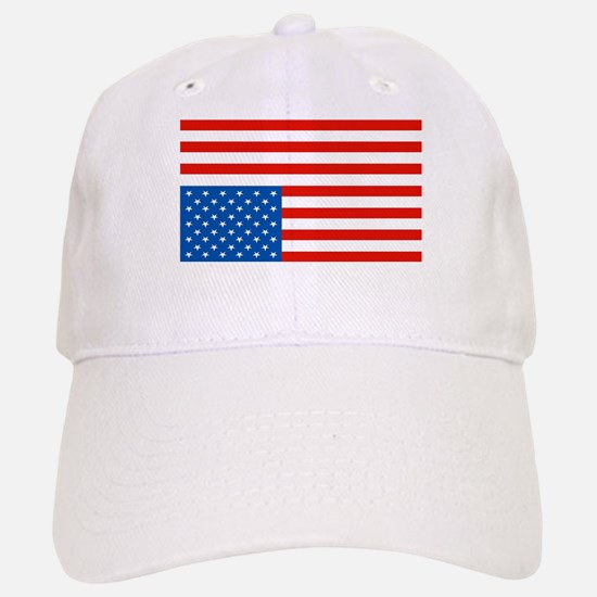 Upside Down USA Flag Baseball Baseball Cap