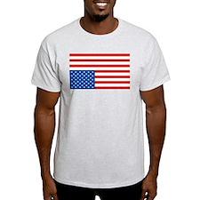 Upside Down USA Flag T-Shirt