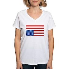 Upside Down USA Flag Shirt