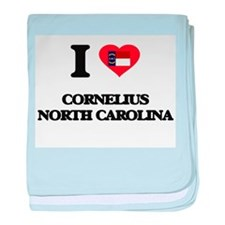 I love Cornelius North Carolina baby blanket