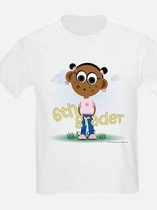 6th Grade Girl (aa) T-Shirt